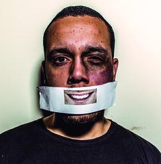 Cartaz - Marco (Caio Barros Fotos) Tags: violência campanha cartaz publicidade foto publicitária