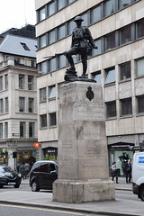 DSC_4458 City of London High Holborn The Royal Fusiliers War Memorial that was erected in 1922 (photographer695) Tags: city london holborn war memorial high the royal fusiliers that was erected 1922