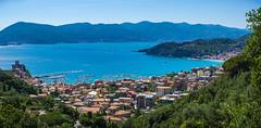 Lerici Vista 1 (TMurrayPhoto) Tags: scenery beach paradise flowers terracotta lerici italy italian cove highcolor