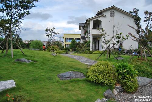 翠綠的草坪