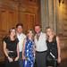 Juliana, Roberto, Bia e Gabriela Marins, com Luiz Paulo indo jantar no La Société.