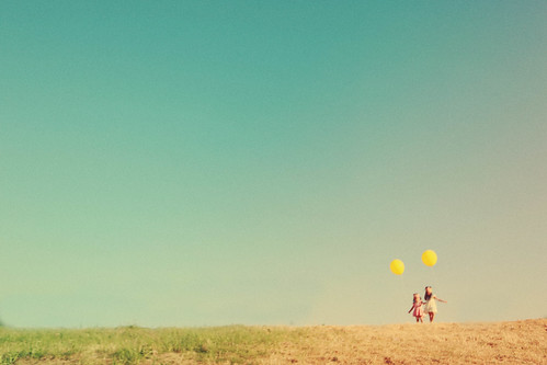 yellow balloon at renegade