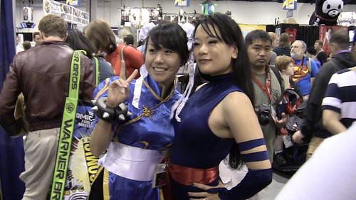 Chun-Li and Psylocke