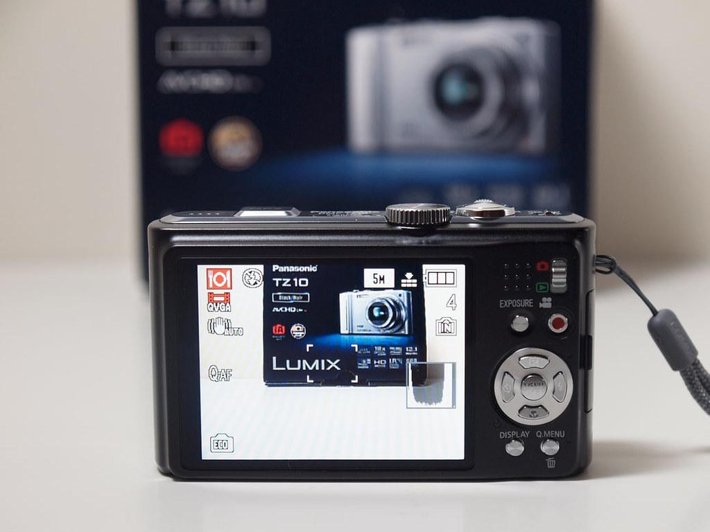 Panasonic Lumix TZ10 Camera 2