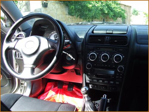 Detallado interior integral Lexus IS200-56