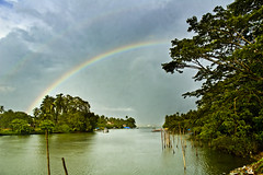 Rainbows in Goa Monsoon (Anoop Negi) Tags: portrait india weather photography for photo rainbow media image photos delhi indian bangalore goa creative images double best monsoon po mumbai anoop panjim negi panaji nerul photosof sinquerim ezee123 bestphotographer imagesof anoopnegi jjournalism