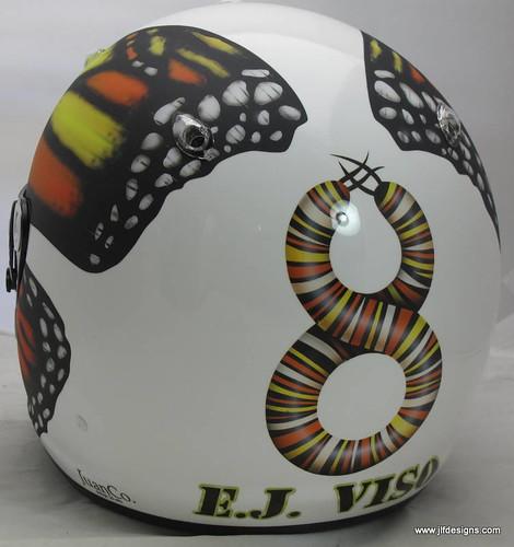 E.J. Viso's Helmet Art