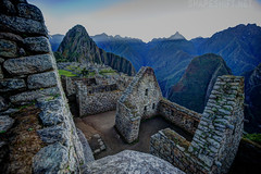 rhythm of the mountains (shapeshift) Tags: roof stone southamerica sunrise lostcity architecture stones ruins archaeology andes peru nature terraces highlands inca temples travel pitchroof mountains jungle precolumbian buildings d700 nikon 1424mm landscape machupicchu davidpham shapeshift davidphamsf pham david phamman dpham shapeshiftnet documentary