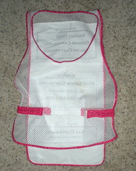 Front of the vest