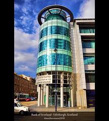 Bank of Scotland - Edinburgh, Scotland (farbspiel) Tags: colour building glass colors sunshine architecture clouds photography nikon colorful edinburgh colours cloudy wolken bank wideangle bluesky handheld colourful nikkor blauerhimmel farben sonnenschein wolkig gbr bankofscotland niceweather 18200mm d90 schöneswetter farbenpracht grosbritannien topazadjust topazdenoise klausherrmann topazsoftware topazphotoshopbundle nikonafsdxnikkor18200mm13556gedvr