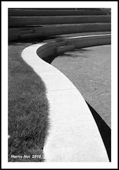 Roseline Sturdy Amphitheatre - UBC Botanical Garden 6682e (Harris Hui (in search of light)) Tags: bw canada abstract monochrome lines architecture vancouver garden mono blackwhite bc theatre amphitheatre shapes sigma shakespeare ubc curvy richmond finepix forms fujifilm digitalbw curve twelfthnight acoustics s3pro botancial ubcbotanicalgarden fujis3pro shakespearestheatre sigma1770mm walkinthegarden sigmazoomlens updatecollection weekendpictures harrishui vancouverdslrshooter whatiscomposition roselinesturdyamphitheatre openoutdoortheatre universtityofbritishcolumbia lovethecurve