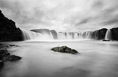 Goafoss (Waterfall of the gods) (Vignir Mr) Tags: longexposure water river waterfall iceland sland goafoss waterfallofthegods bw10stopndfilter vignirmr