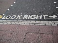 London street signage