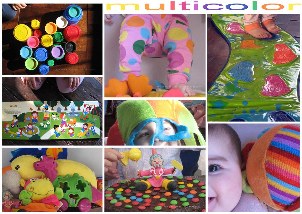 La vuelta al mundo multicolor