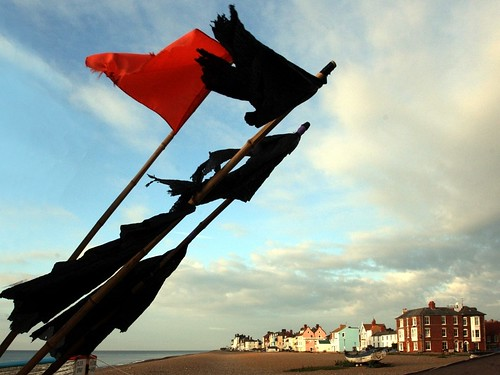 Fisherman's Flags on Aldeburgh Beach