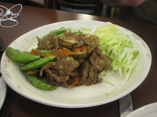Beef in XO sauce at PM