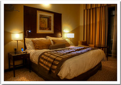 .. ~ (Mohammed Al-Adsani ) Tags: night lights hotel bed dubai room mohammed suite iphone          aladsani