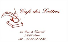 Cafe des Lettres