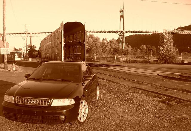 2002 black b5 audi s4