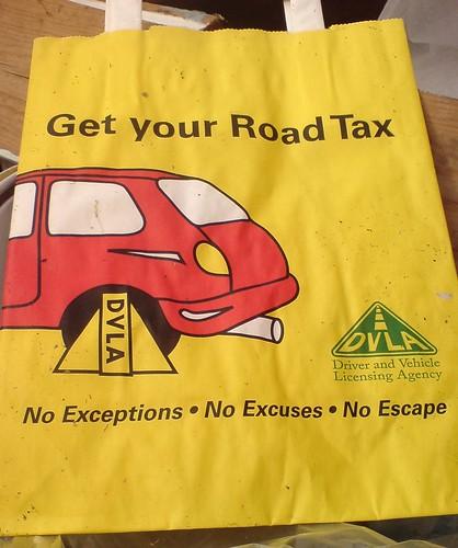 Don't Call It 'road Tax', Call It 'car Tax'. (AA, Post
