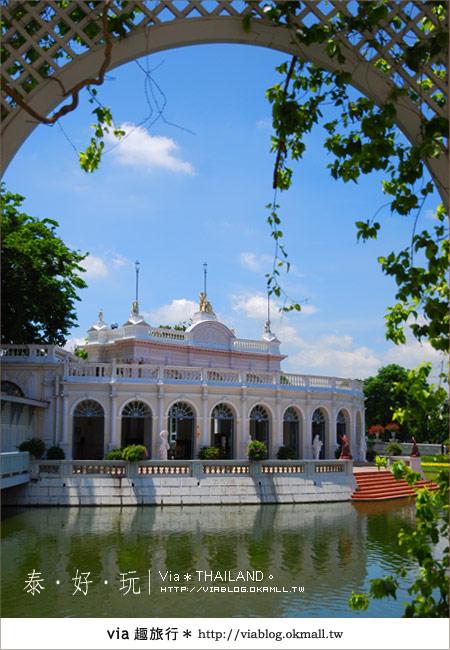 【泰國旅遊】大城之旅|泰皇的渡假聖堂~芭茵夏宮29