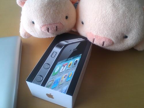 iPhone4届いた
