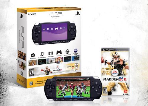 Madden NFL 11 PSP Bundle