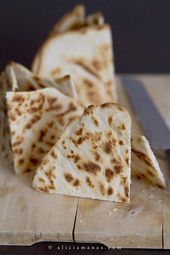 Piadina romagnola - preparación