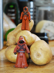 Jawas & rosegold potatoes