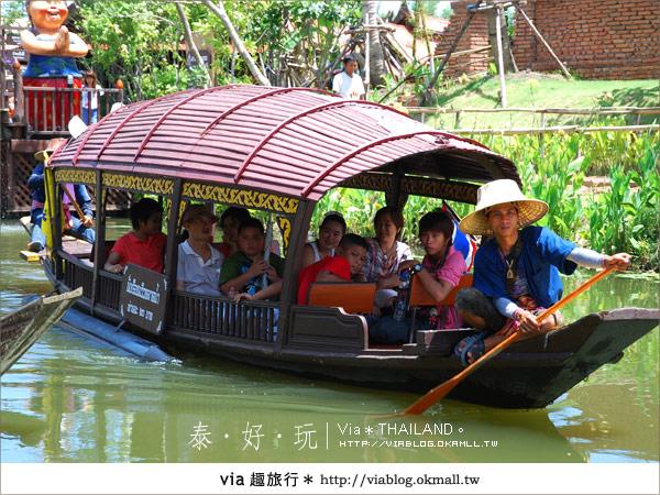 【泰國小吃】泰好吃~大城水上市場美味小吃呷通海!6