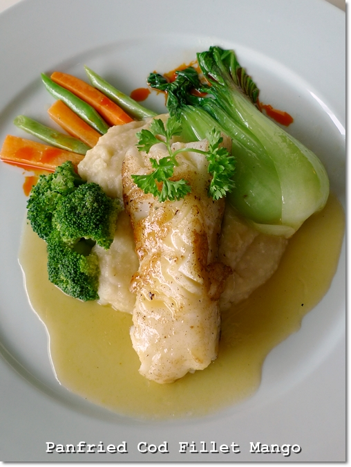 Panfried Cod Fillet Mango