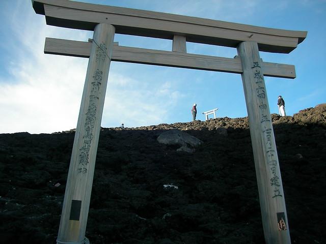 最後の鳥居, 富士山登山(富士宮ルート) Climbing Mt.Fuji