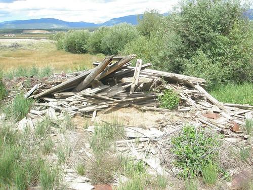 Leadville abandoned cabin