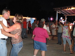 Dancing Crowd at Wilson Winery