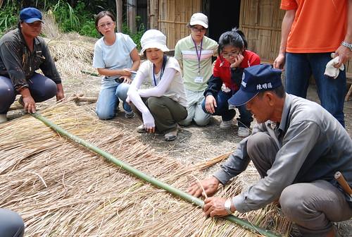 台東成功工作假期, 上山學蓋阿美族的竹子茅草屋, 學習傳統生態智慧