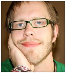 10. Portrait of a Man (Lonyl) Tags: portrait selfportrait me canon eos days 365 project365 365days 40d lonyl jrnolavlkken