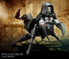 Staccato Selkis, ID no. 581034 (Morgan190) Tags: halloween robot spider scary lego mechanical creepy scorpion minifig custom android m19 minifigure morgan19