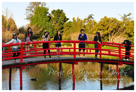 Picnic at Japanese Garden