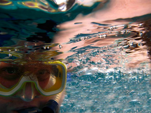Underwater Self Portrait
