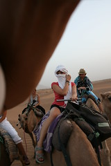 riding the camels (my_tainted_love) Tags: me morocco camels