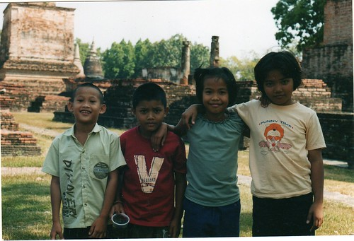 Kids in Sukothai Thailand