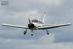G-ZZIJ - 28-3639 - Private - Piper PA-28-180 Cherokee C - Little Gransden - 100829 - Steven Gray - IMG_3409