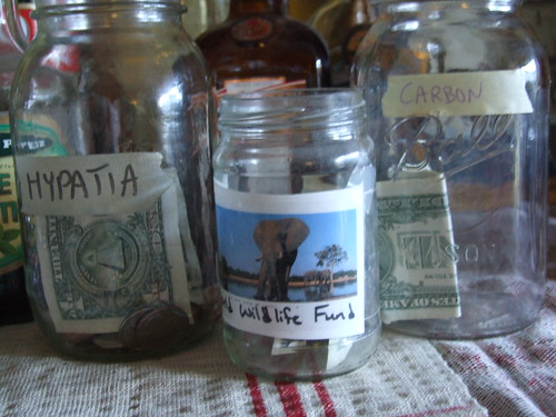 childrens money jars