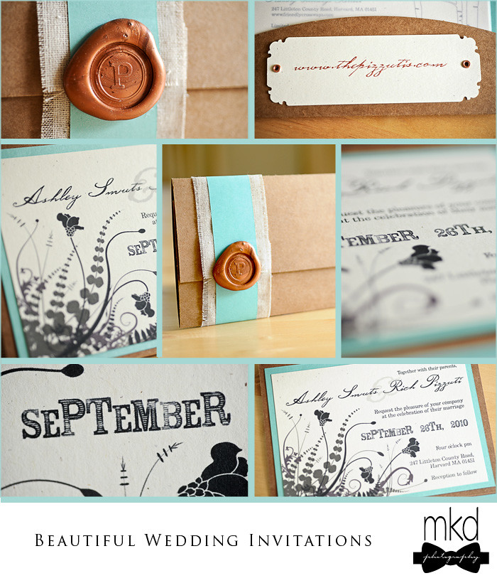 Pizzuti Wedding Invitation