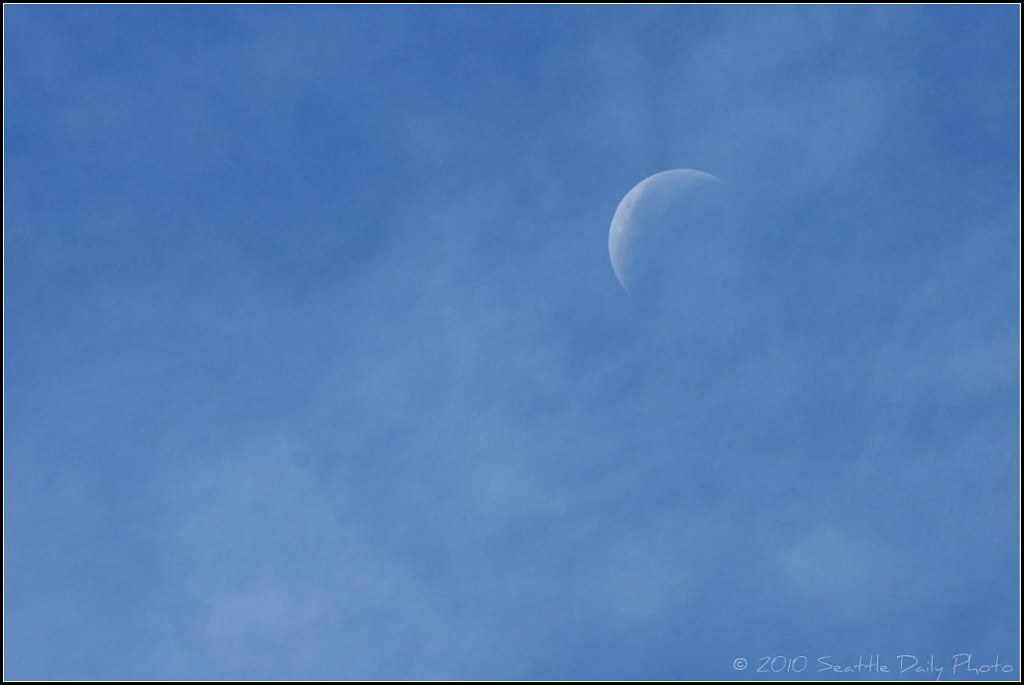 The Moon In the Clouds