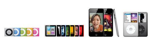 New iPod(2010.09)