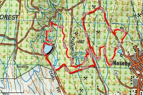 Naseby Map