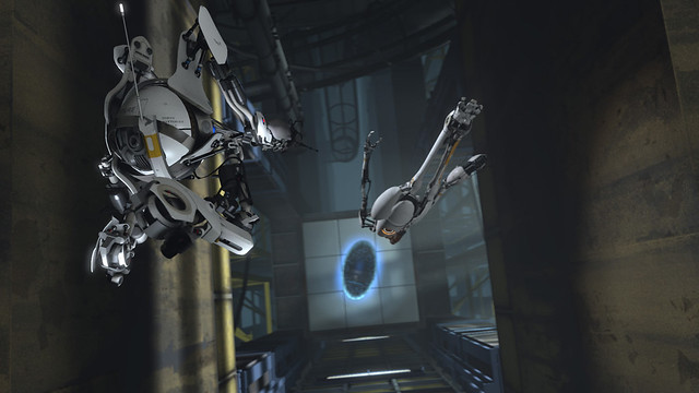 Portal 2 robots modo Co-op Valve