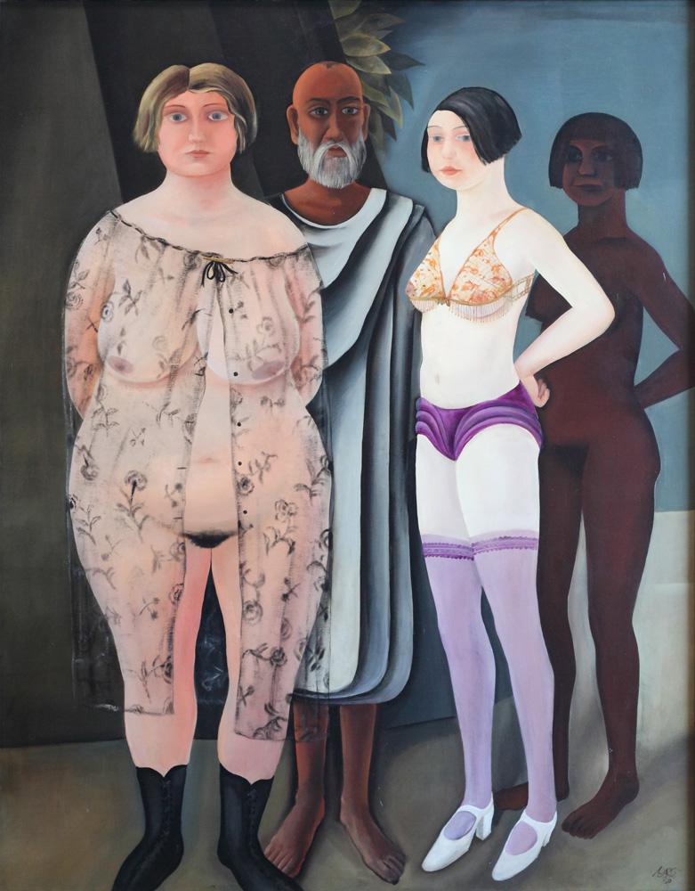 Otto Rudolf Schatz, Die Hoffnung [The Hope], 1930