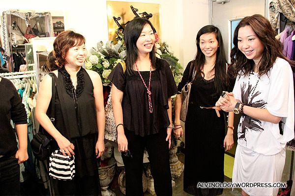 The bloggers meet Celia Wong